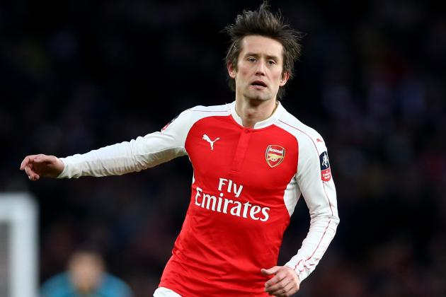 Tomas Rosicky Injury: Updates on Arsenal Midfielder's Thigh and Return