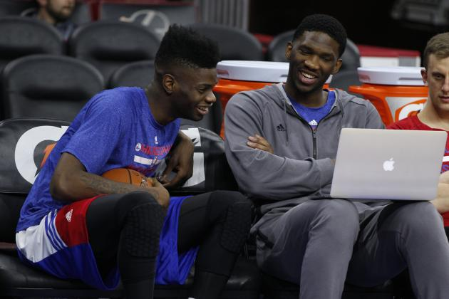 Joel Embiid Trash-Talks Former Kentucky Players After His Jayhawks Beat Wildcats