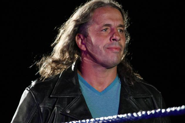 Bret Hart Announces He Has Been Diagnosed with Prostate Cancer
