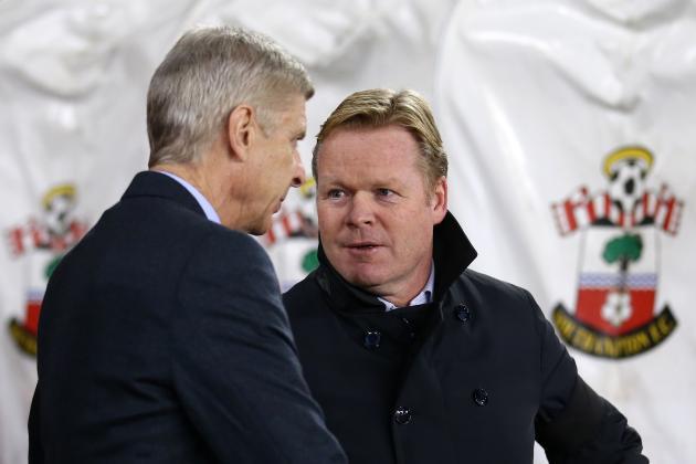 Arsenal vs. Southampton: Team News, Predicted Lineups, Live Stream, TV Info