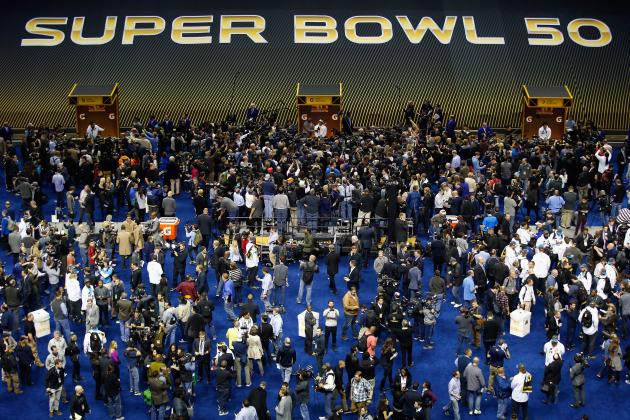Super Bowl Opening Night 2016: Best Moments and Twitter Reaction from Media Day