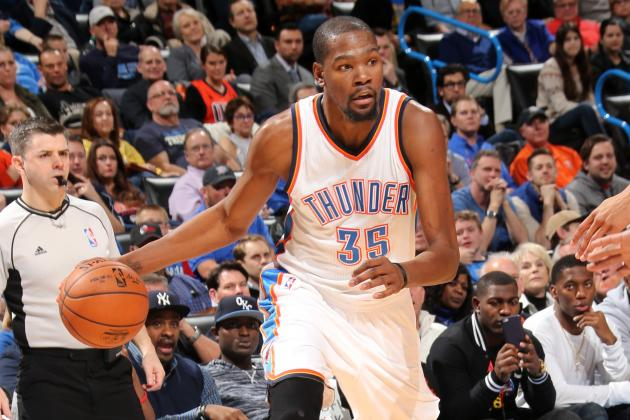 Monday NBA Roundup: Wizards Fail Again to Impress Free-Agent-to-Be Kevin Durant