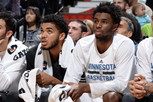 Timberwolves' Andrew Wiggins and Karl-Anthony Towns Battle in 'Call of Duty'