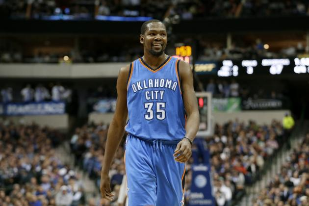 Kevin Durant Rumors: Warriors Reportedly Front-Runners If Star Leaves Thunder