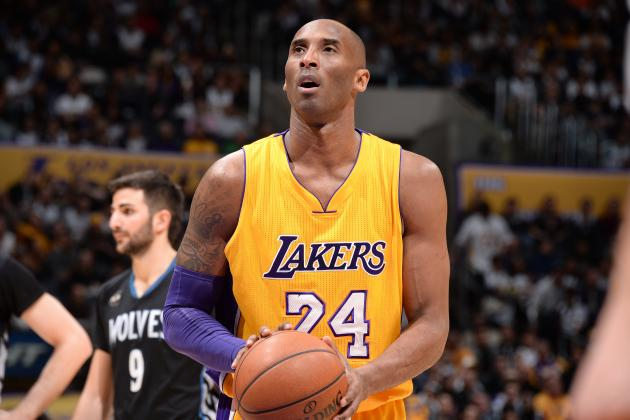 Kobe Bryant vs. Timberwolves: Stats, Highlights and Twitter Reaction