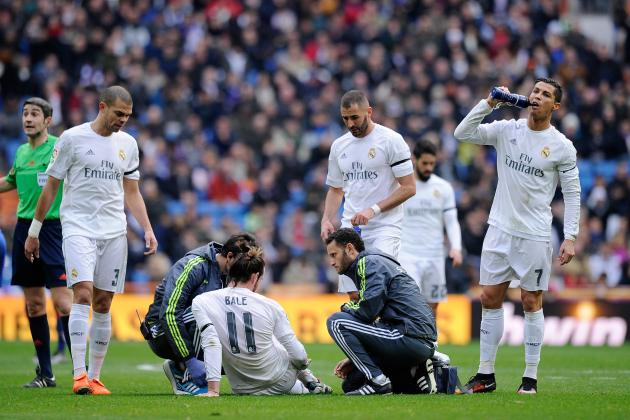 Real Madrid Fear Santiago Bernabeu Grass Could Be Behind Gareth Bale's Injuries