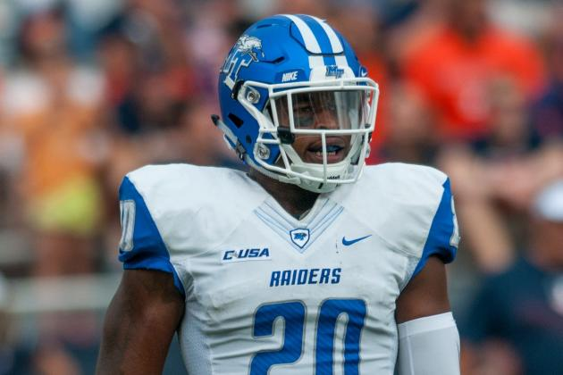 2016 NFL Draft: MTSU's Kevin Byard Used to Proving Doubters Wrong