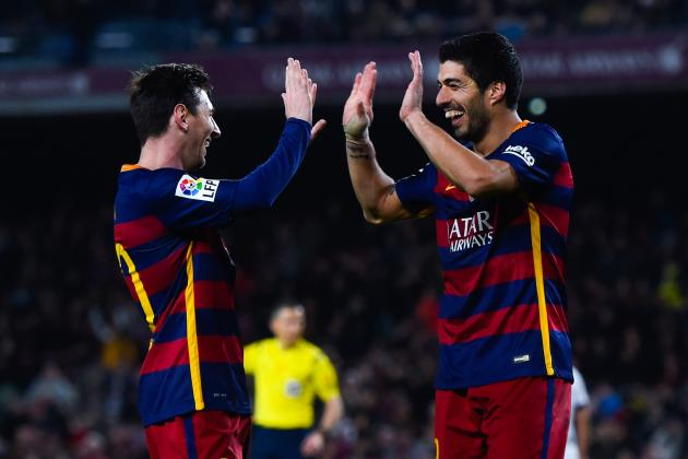 Rampant Barcelona Make Easy Work of Valencia, Have One Foot in Spanish Cup Final
