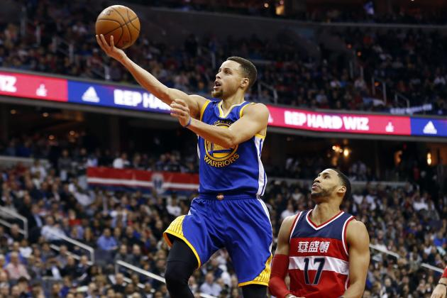 Steph Curry vs. Wizards: Stats, Highlights and Twitter Reaction