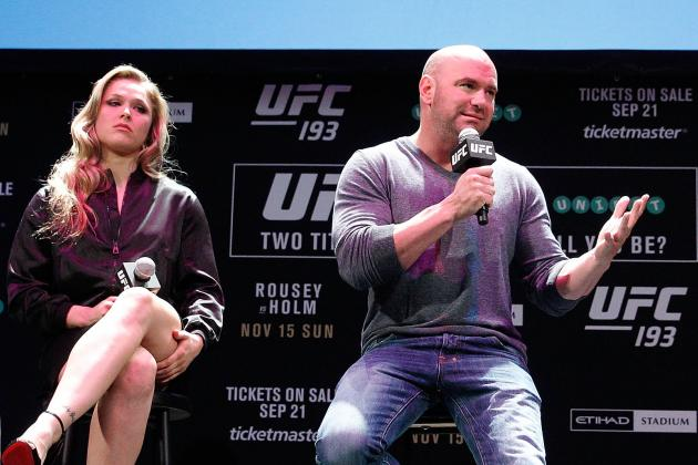 Dana White Comments on Ronda Rousey Return, Sage Northcutt, More