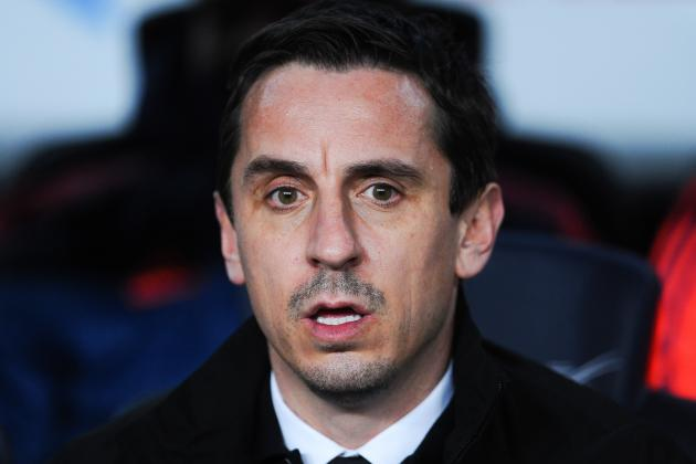 Gary Neville Reacts to Barcelona vs. Valencia Defeat and Resignation Questions