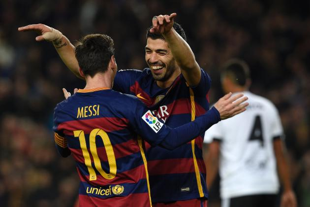 Luis Suarez, Neymar, Lionel Messi Open to Being Rested in Valencia 2nd Leg