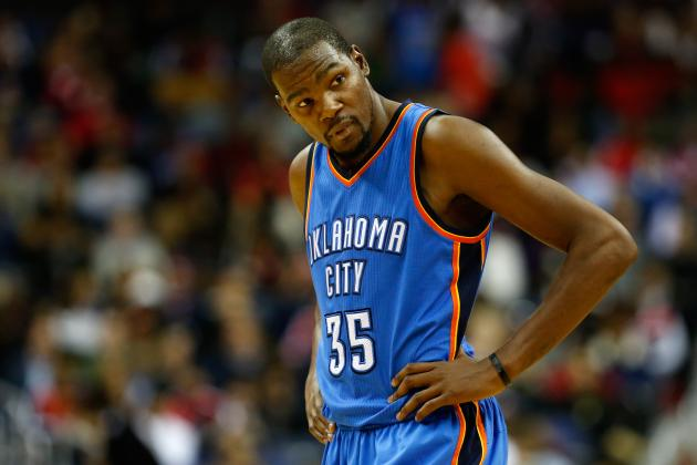 Progress Reports for Kevin Durant's Biggest Free-Agent Suitors