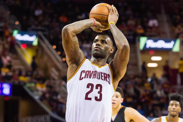 LeBron James' Inconsistent Stroke Has Opponents, Cavaliers Off Balance
