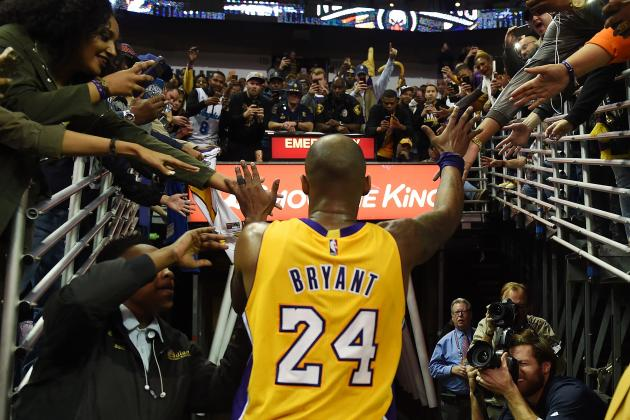 Just Showing Up Is Its Own Reward for Kobe Bryant in His Farewell Season