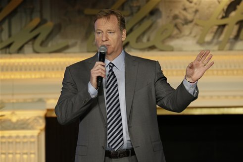 Roger Goodell Discusses Concussions, Risks of Football on 'Good Morning America'