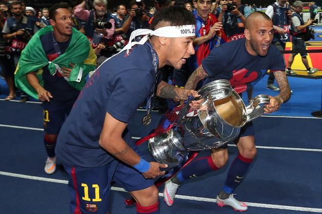 Image result for neymar jr and dani alves barca