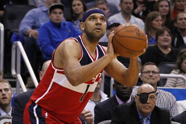 Jared Dudley Trade Rumors: Latest News, Speculation on Wizards SF