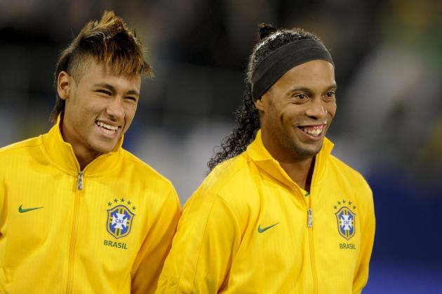 Real Madrid Transfer News: Ronaldinho Comments on Neymar Rumours