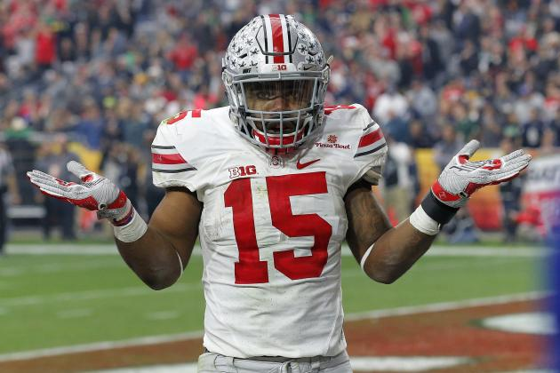Ezekiel Elliott Says He Wants to Be Drafted by Cowboys, Talks 40-Yard-Dash Goal