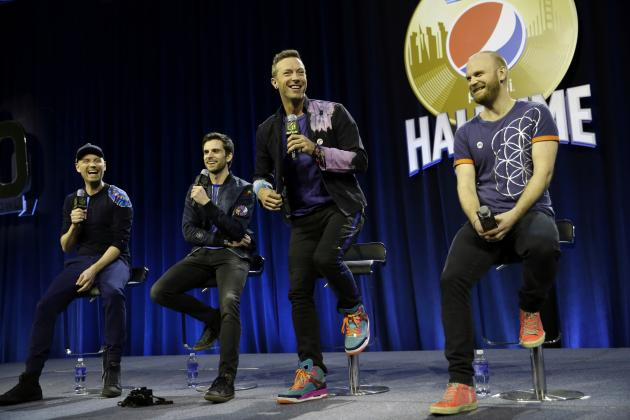 Coldplay Super Bowl Halftime Show 2016 Odds and Betting Games