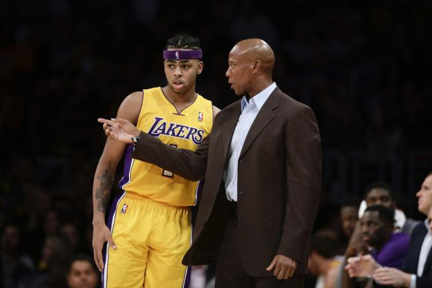 Byron Scott Comments on D'Angelo Russell's Rookie Season, Progress and More
