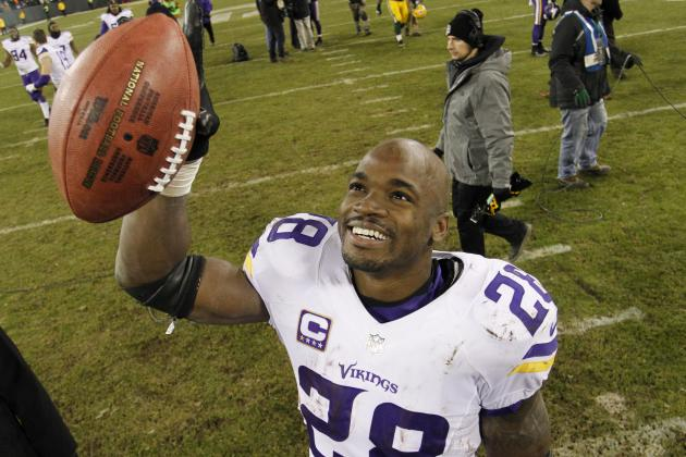 Adrian Peterson Named 2015 NFL FedEx Ground Player of the Year