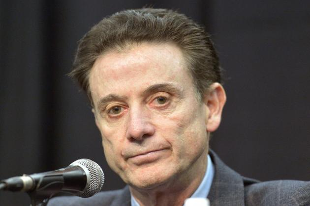 Rick Pitino Speaks Out Against Louisville's Self-Imposed 2016 Postseason Ban