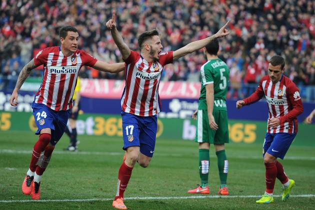 Youthful Atletico Madrid Side Show Future Is Bright After Important Eibar Win