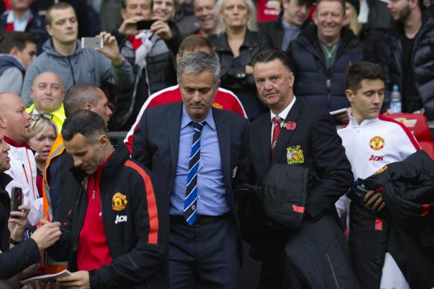 Louis van Gaal Comments on Jose Mourinho Being Linked to Manchester United