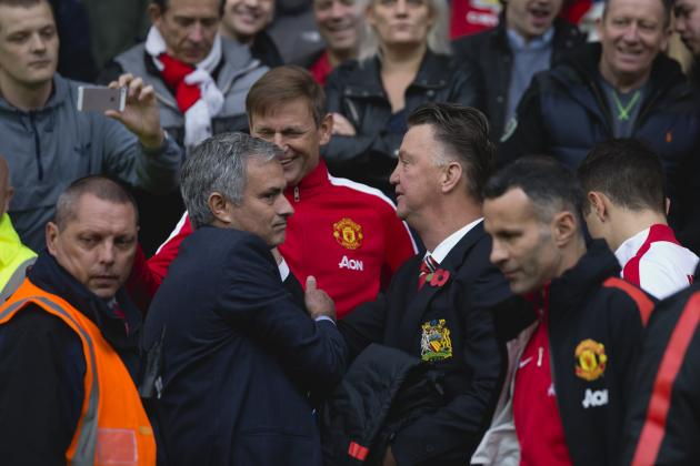 UK Back Pages: Louis van Gaal Fires Back at Jose Mourinho Man United Rumours