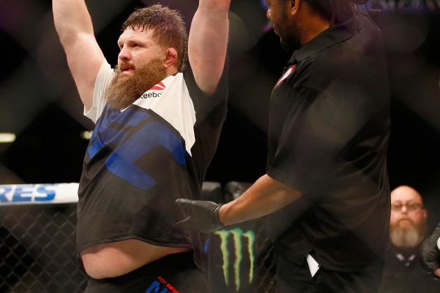 Roy Nelson Scores Brutally Boring Win over Jared Rosholt at UFC Fight Night 82