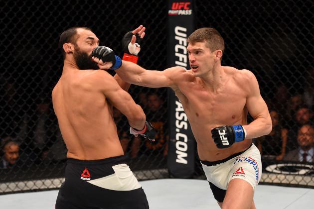 UFC Fight Night 82 Results: Winners, Scorecards from Hendricks vs. Thompson Card