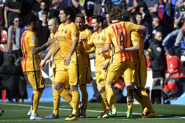 Levante vs. Barcelona: Score, Reaction from 2016 La Liga Game