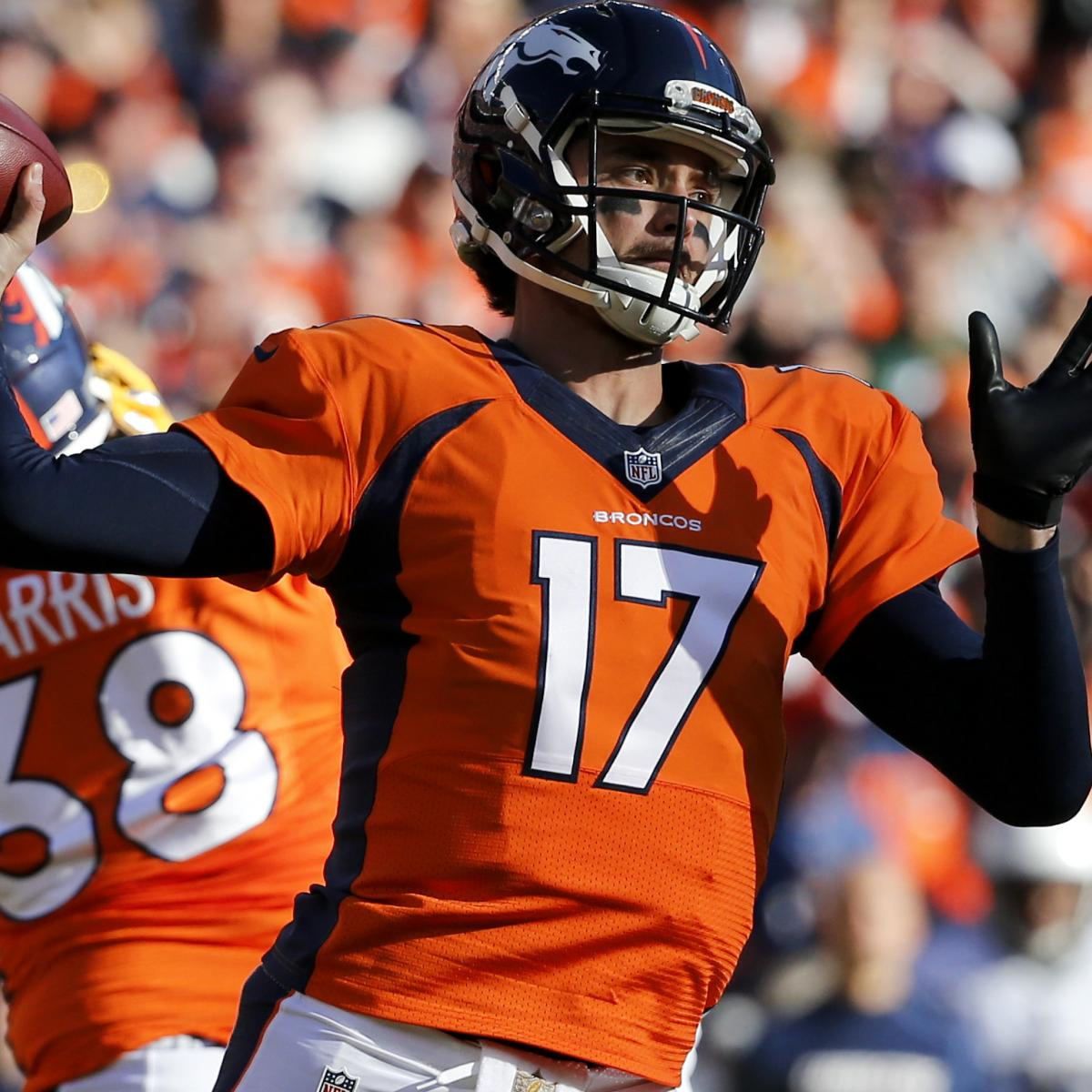 Peyton Manning S Ankle Injuries Won T Hurt Fantasy: Brock Osweiler Reportedly To Sign With Houston Texans