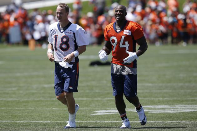 Peyton Manning, DeMarcus Ware 'Emotional and Near Tears' During Broncos Meeting