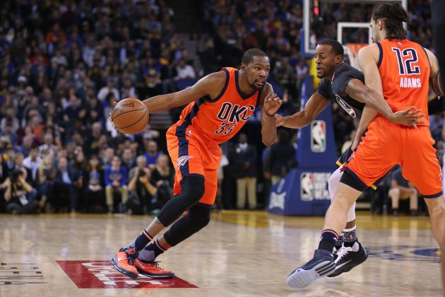 Kevin Durant Says Thunder Aren't 'Scared' of Warriors or Spurs