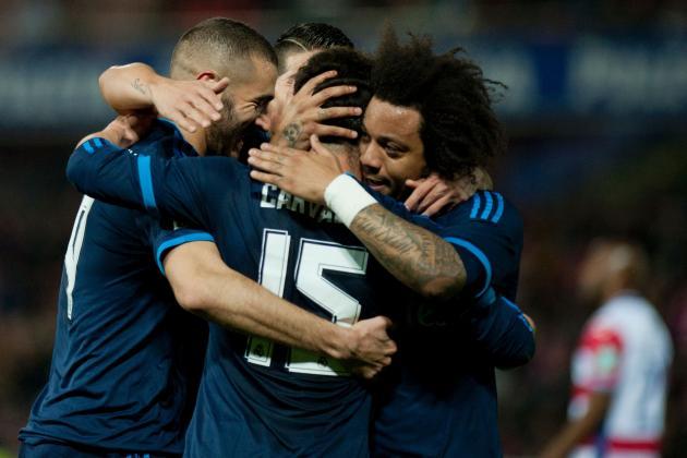 Granada vs. Real Madrid: Score, Reaction from 2016 La Liga Game