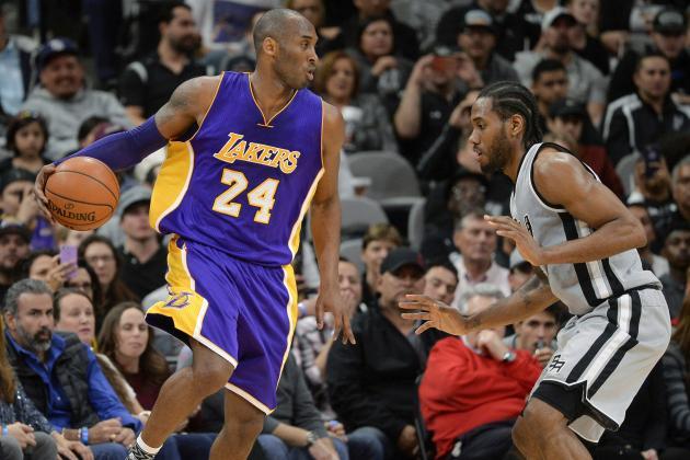 Kobe Bryant Comments on Mentoring Kawhi Leonard, Bruce Bowen Comparisons