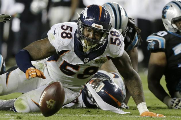Broncos Break Super Bowl Record for Fewest Yards Gained in Win vs. Panthers