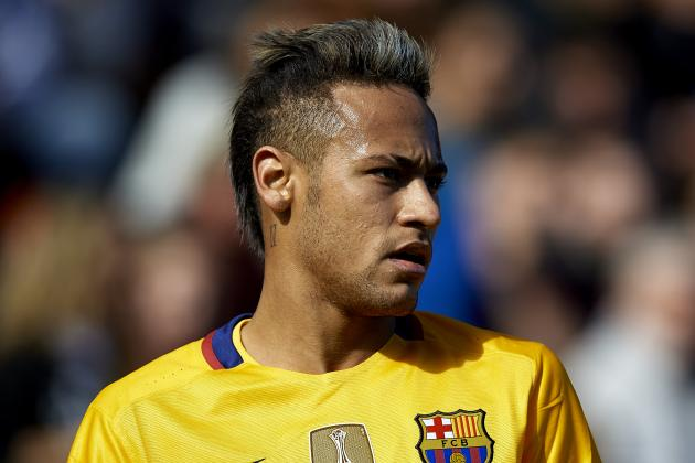 Barcelona Transfer News: Neymar 'Happy' Amid Manchester United, City Rumours