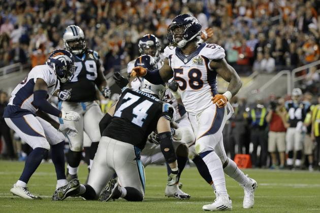 Super Bowl 2016: Quarter-by-Quarter Score, Final Stats for Panthers vs. Broncos