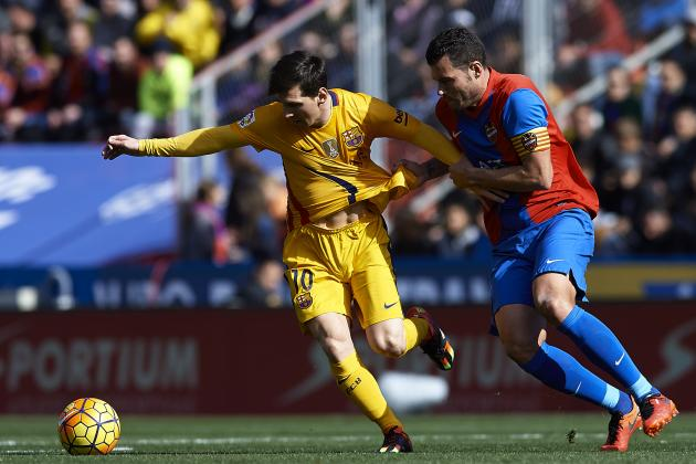 Barcelona's Tired Display Against Levante Shows Rotation Is Necessary
