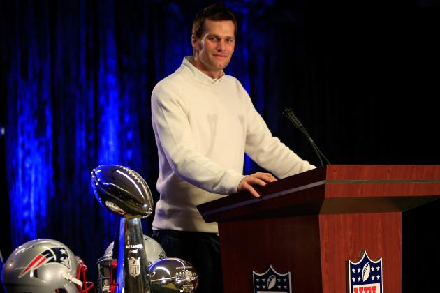 Tom Brady Doesn't Put Himself on List of All-Time Great NFL Players