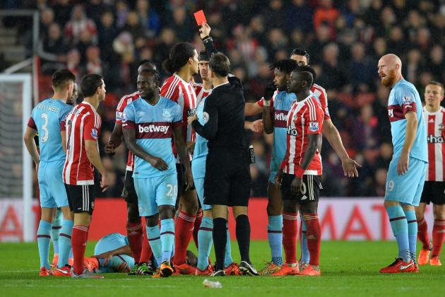 Victor Wanyama Banned 5 Matches After Red Card vs. West Ham: Comments, Reaction