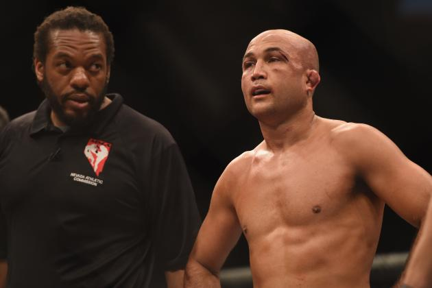 BJ Penn's UFC Comeback Delayed, Expected to Fight at UFC 197