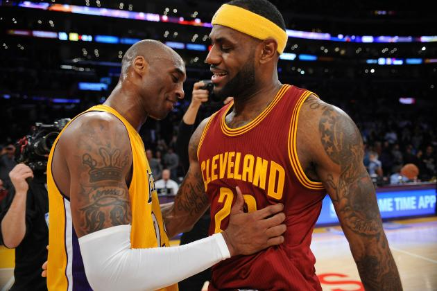 LeBron James Comments on Kobe Bryant's Final Season, Matchup vs. Lakers