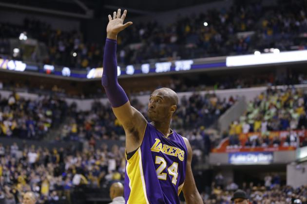 Lakers' Kids Helping Kobe Find Joy in the Little Things Amid Season Gone Wrong