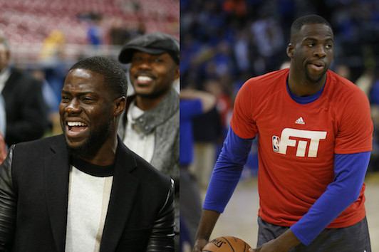 Kevin Hart, Draymond Green Go Back and Forth on Twitter over 3-Point Shootout