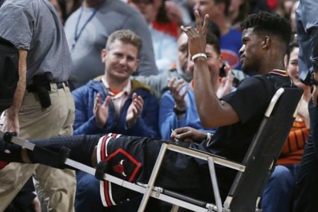 Jimmy Butler Injury Update: Bulls Star Ruled Out of 2016 NBA All-Star Game